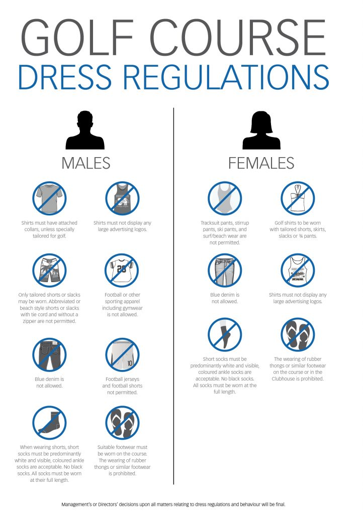 2016 BGC Dress Regulations